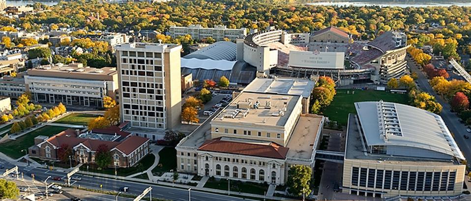 UW-Madison Engineering Campus. Image courtesy of Jeff Miller/UW-Madison
